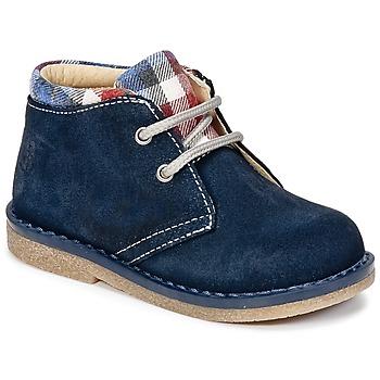 Pantofi Băieți Ghete Citrouille et Compagnie HEYLI Albastru