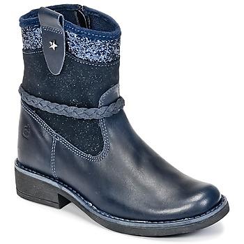 Pantofi Fete Ghete Citrouille et Compagnie HAYO Albastru