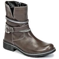 Pantofi Fete Ghete Citrouille et Compagnie HASU Gri