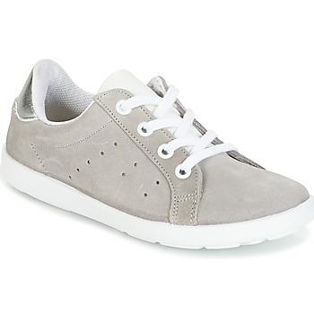 Încăltăminte Fete Pantofi sport Casual Citrouille et Compagnie HINETTE Gri / Argintiu