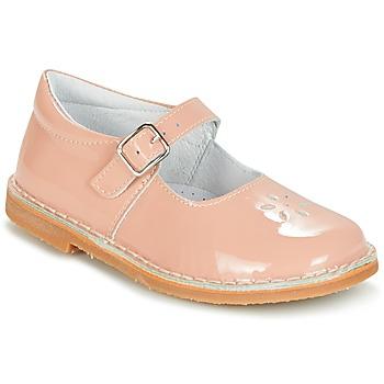 Pantofi Fete Balerin și Balerini cu curea Citrouille et Compagnie HIVETTE Roz