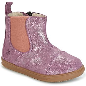 Pantofi Fete Ghete Citrouille et Compagnie HUETTE Roz