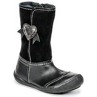 Pantofi Fete Cizme casual Citrouille et Compagnie HYDIL Negru