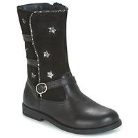 Pantofi Fete Cizme casual Citrouille et Compagnie HANDRE Negru