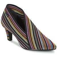 Pantofi Femei Botine United nude FOLD LITE MID Negru /  multicolor