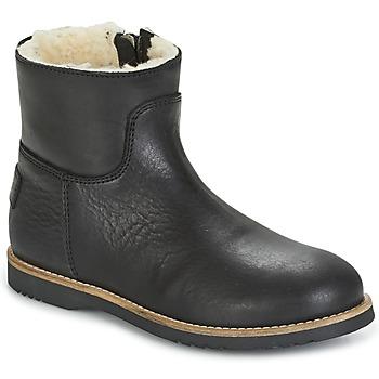 Pantofi Fete Ghete Shabbies LOW STITCHDOWN LINED Negru