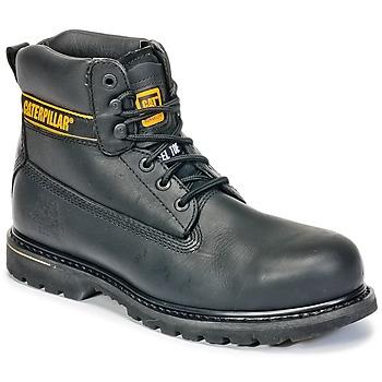 Pantofi Bărbați Ghete Caterpillar HOLTON ST SB Negru