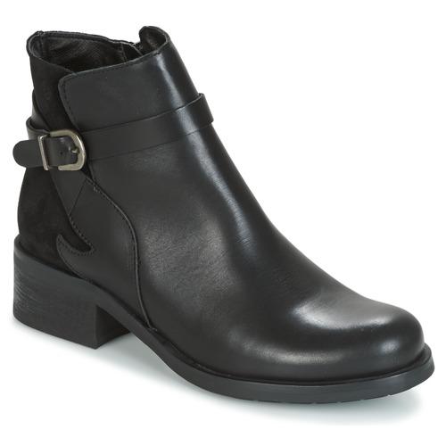 Pantofi Femei Botine Betty London HARRIS Negru