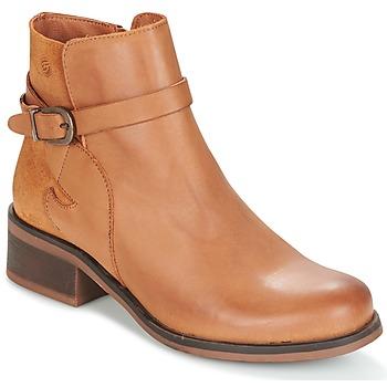 Pantofi Femei Ghete Betty London HEYLEY Camel