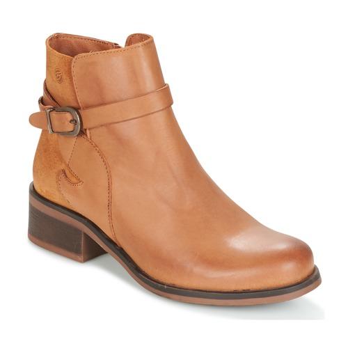 Pantofi Femei Botine Betty London HEYLEY Camel