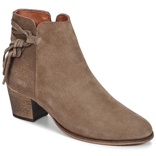 Pantofi Femei Botine Betty London HEIDI Taupe