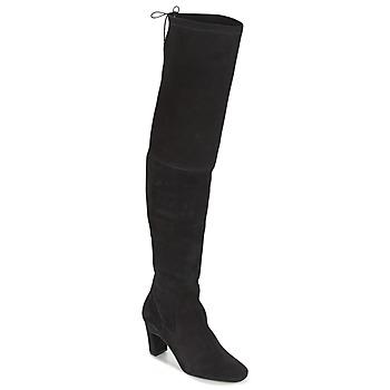 Pantofi Femei Cizme lungi peste genunchi Betty London HENNA Negru