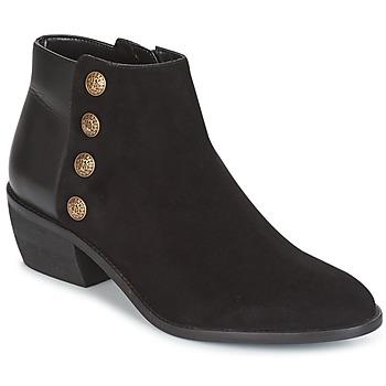 Pantofi Femei Botine Dune London PANELLA Black