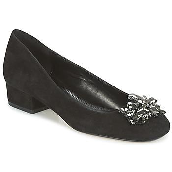 Pantofi Femei Balerin și Balerini cu curea Dune London BAYA Black