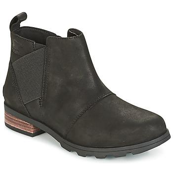 Pantofi Femei Cizme de zapadă Sorel EMELIE CHELSEA Negru