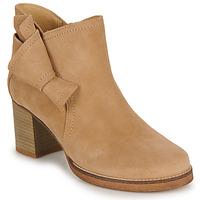 Pantofi Femei Botine Casual Attitude HIRCHE Bej