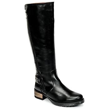 Pantofi Femei Cizme casual Casual Attitude HAPO Negru