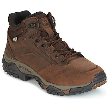 Pantofi Bărbați Ghete Merrell MOAB VENTURE MID WTPF Maro