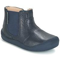 Pantofi Copii Ghete Start Rite FIRST CHELSEA Bleumarin