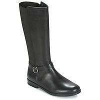 Pantofi Fete Cizme casual Start Rite GRACE LONG Negru