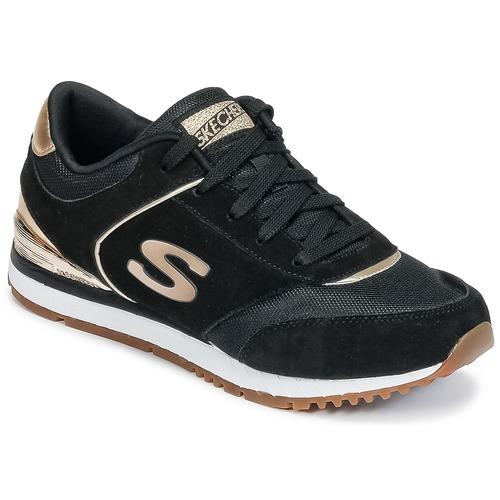 Pantofi Femei Pantofi sport Casual Skechers SUNLITE Negru / Auriu