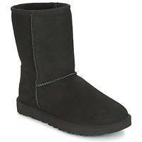 Pantofi Femei Ghete UGG CLASSIC SHORT II Negru