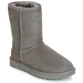 Pantofi Femei Ghete UGG CLASSIC SHORT II Gri