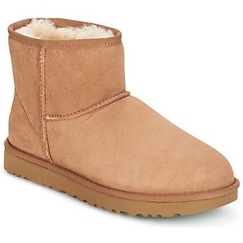 Pantofi Femei Ghete UGG CLASSIC MINI II Camel
