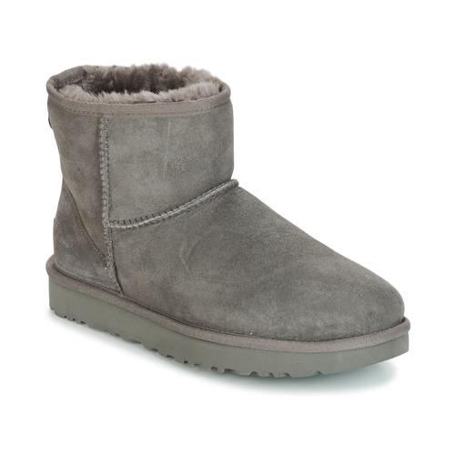 Pantofi Femei Ghete UGG CLASSIC MINI II Gri