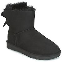 Pantofi Femei Ghete UGG MINI BAILEY BOW II Negru
