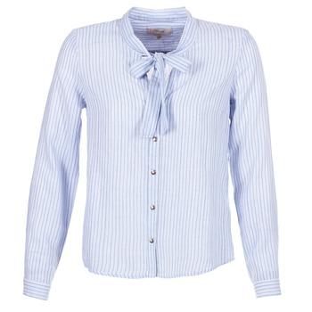 Îmbracaminte Femei Cămăși și Bluze Cream CAMA STRIPED SHIRT Albastru