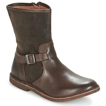 Pantofi Femei Ghete Kickers CREEK Maro / Culoare închisă
