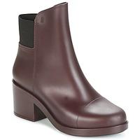 Pantofi Femei Botine Melissa ELASTIC BOOTS Bordo