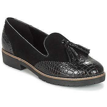 Pantofi Femei Balerin și Balerini cu curea Dune London Gilmore Black