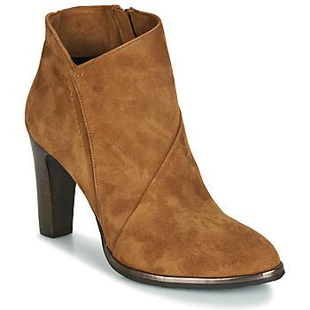 Pantofi Femei Botine Myma PELOUR Coniac