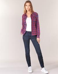 Îmbracaminte Femei Jeans skinny G-Star Raw 5620 STAQ 3D MID SKINNY WMN Bleumarin
