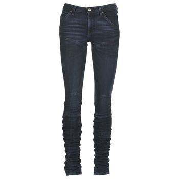 Îmbracaminte Femei Jeans skinny G-Star Raw 5620 STAQ 3D MID SKINNY WMN Albastru