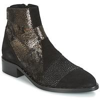 Pantofi Femei Ghete Philippe Morvan SILKO V1 CR VEL NOIR Negru