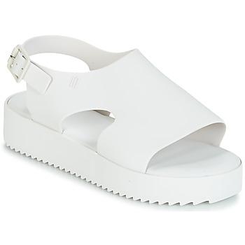 Pantofi Femei Sandale și Sandale cu talpă  joasă Melissa HOTNESS Alb