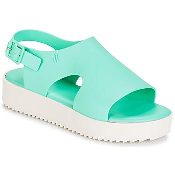 Pantofi Femei Sandale  Melissa HOTNESS Verde / Alb