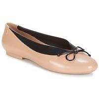 Pantofi Femei Balerin și Balerini cu curea Melissa JUST DANCE Bej