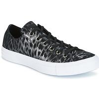 Încăltăminte Femei Pantofi sport Casual Converse CHUCK TAYLOR ALL STAR SHIMMER SUEDE OX Negru / Alb