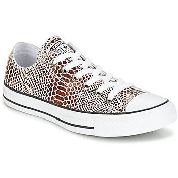 Încăltăminte Femei Pantofi sport Casual Converse CHUCK TAYLOR ALL STAR FASHION SNAKE OX Negru / Alb