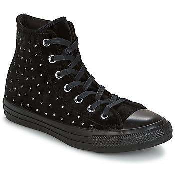 Pantofi Femei Pantofi sport stil gheata Converse CHUCK TAYLOR ALL STAR HI Musta