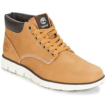 Încăltăminte Bărbați Pantofi sport stil gheata Timberland BRADSTREET CHUKKA LEATHER Maro