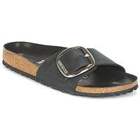 Încăltăminte Femei Papuci de vară Birkenstock MADRID BIG BUCKLE Negru / Mat
