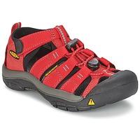 Pantofi Copii Sandale sport Keen KIDS NEWPORT H2 Roșu / Gri