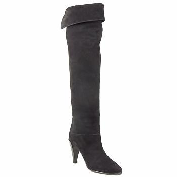 Pantofi Femei Cizme lungi peste genunchi Veronique Branquinho LIBERIUS Negru