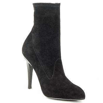 Pantofi Femei Botine Michael Kors STRETCH LB Negru