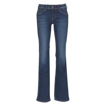 Îmbracaminte Femei Jeans bootcut Pepe jeans PIMLICO Ca0 / Albastru / Brut